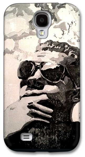 Grey Reliefs Galaxy S4 Cases - Pondering Galaxy S4 Case by Ashley Casterline