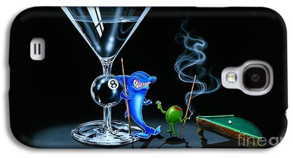 Pool Shark Galaxy S4 Case by Michael Godard