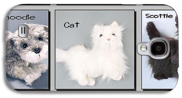 Westie Digital Galaxy S4 Cases - Popular Pooches Galaxy S4 Case by David and Lynn Keller