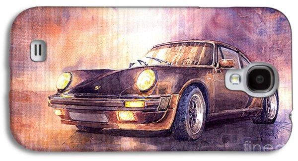 911 Galaxy S4 Cases - Porsche 911 Turbo 1979 Galaxy S4 Case by Yuriy  Shevchuk