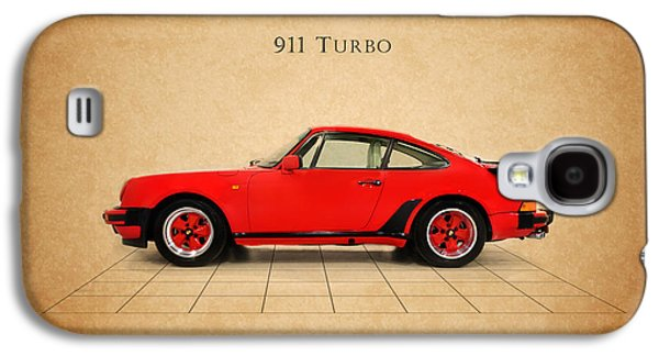 Classic Cars Photographs Galaxy S4 Cases - Porsche 911 Turbo 1985 Galaxy S4 Case by Mark Rogan