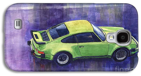 911 Galaxy S4 Cases - Porsche 911 turbo Galaxy S4 Case by Yuriy  Shevchuk