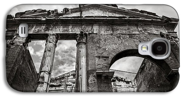 Roman Galaxy S4 Cases - Porticus Octaviae in Rome Galaxy S4 Case by Diane Diederich