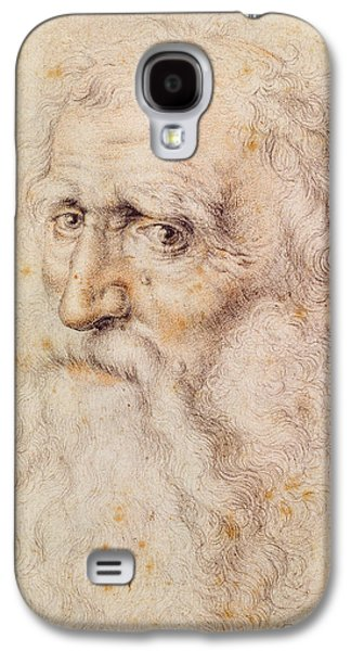 Portrait Of A Bearded Old Man Galaxy S4 Case by Albrecht Durer or Duerer
