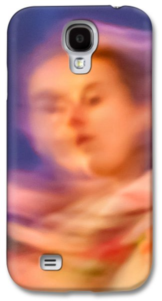 Thinking Galaxy S4 Cases - Portrait Of A Lady Galaxy S4 Case by Az Jackson