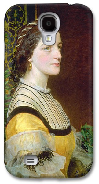 Portrait Of A Lady Galaxy S4 Case by Frederick Sandys