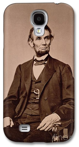 Portrait Of Abraham Lincoln Galaxy S4 Case by Mathew Brady