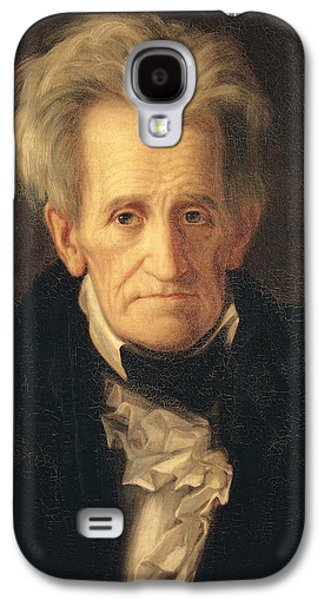 Portrait Of Andrew Jackson Galaxy S4 Case by George Peter Alexander Healy