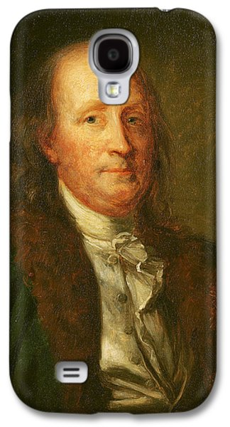 Portrait Of Benjamin Franklin Galaxy S4 Case by George Peter Alexander Healy
