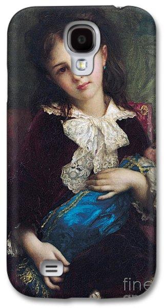Portrait Of Catherine Du Bouchage Galaxy S4 Case by Antoine Auguste Ernest Hebert
