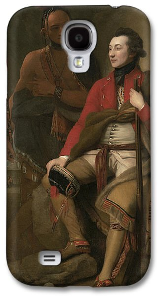 Portrait Of Colonel Guy Johnson Galaxy S4 Case by Benjamin West