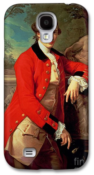 Relief Sculpture Galaxy S4 Cases - Portrait of Edmund Rolfe Galaxy S4 Case by Pompeo Girolamo Batoni