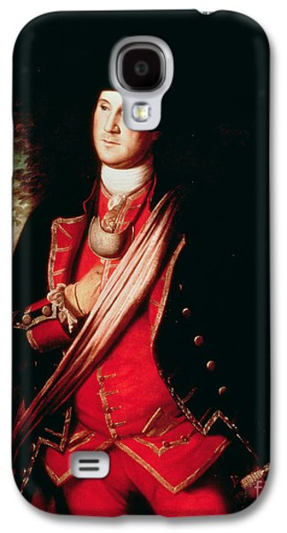 Politician Paintings Galaxy S4 Cases - Portrait of George Washington Galaxy S4 Case by Charles Willson Peale