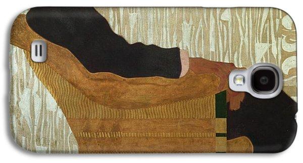 Chair Galaxy S4 Cases - Portrait of Hans Massmann Galaxy S4 Case by Egon Schiele
