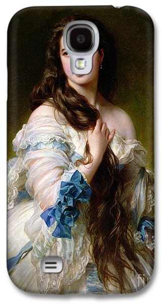 19th Galaxy S4 Cases - Portrait of Madame Rimsky Korsakov Galaxy S4 Case by Franz Xaver Winterhalter