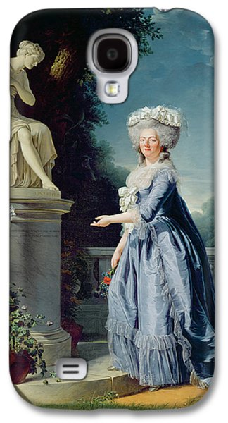 1733-99 Paintings Galaxy S4 Cases - Portrait of Marie-Louise Victoire de France Galaxy S4 Case by Adelaide Labille-Guiard