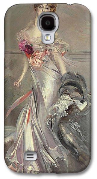 Portrait Of Marthe Regnier Galaxy S4 Case by Giovanni Boldini