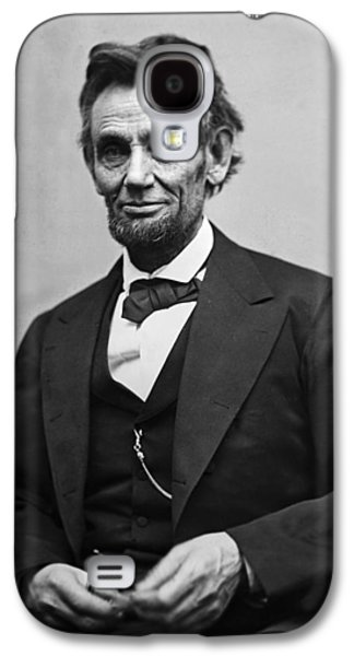 Portrait Of President Abraham Lincoln Galaxy S4 Case by International  Images