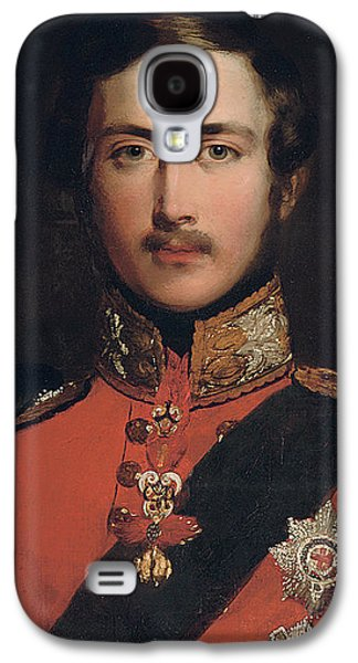 British Portraits Galaxy S4 Cases - Portrait of Prince Albert Galaxy S4 Case by John Lucas