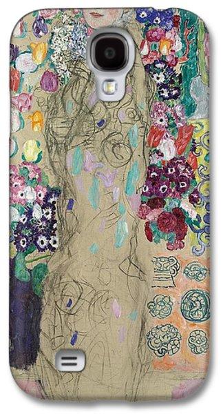 Portrait Of Ria Munk IIi Galaxy S4 Case by Gustav Klimt