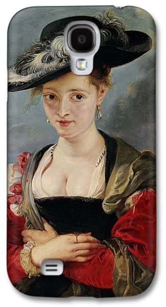 Portrait Of Susanna Lunden Galaxy S4 Case by Peter Paul Rubens
