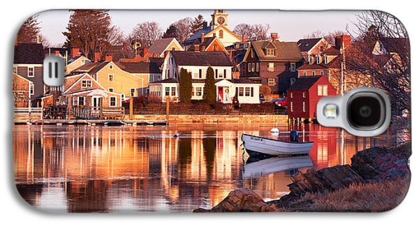 Portsmouth Golden Light Galaxy S4 Case by Eric Gendron