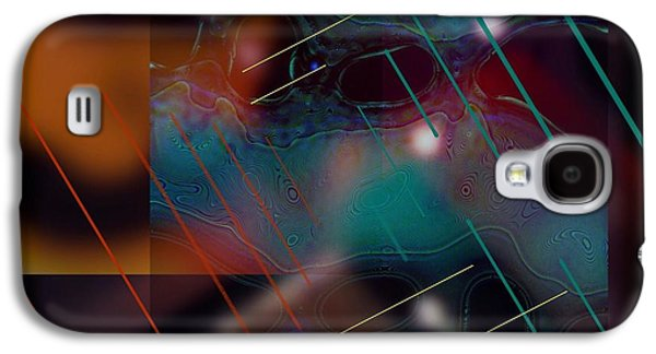 Abstract Digital Digital Galaxy S4 Cases - Positronics Are Happening Galaxy S4 Case by LeRoy Banks