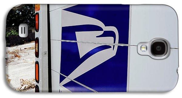 Post Office Truck Galaxy S4 Case by Kenneth Lempert