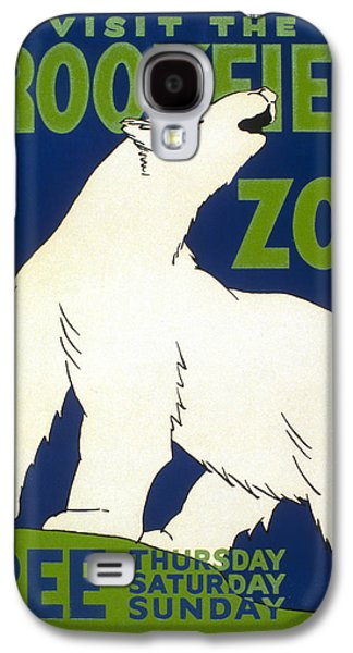 Poster For The Brookfield Zoo Galaxy S4 Case by Unknown