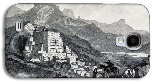 Tibetan Buddhism Galaxy S4 Cases - Potala Palace, 19th Century Galaxy S4 Case by British Library