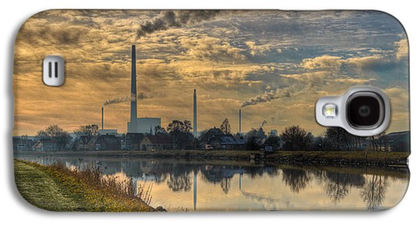 Enterprise Galaxy S4 Cases - Power Plant Galaxy S4 Case by Gert Lavsen