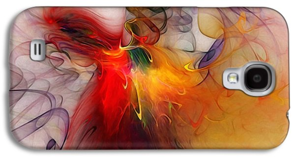 Contemplative Digital Galaxy S4 Cases - Powers of Expression Galaxy S4 Case by Karin Kuhlmann