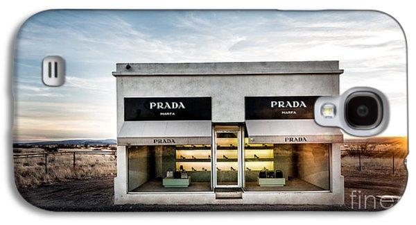 Installation Art Galaxy S4 Cases - Prada Marfa Galaxy S4 Case by Edward Fielding