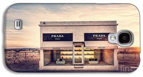 Texas Artist Galaxy S4 Cases - Prada Store Galaxy S4 Case by Edward Fielding