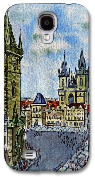 Prague Czech Republic Galaxy S4 Case by Irina Sztukowski