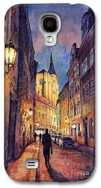 Prague Husova Street Galaxy S4 Case by Yuriy  Shevchuk