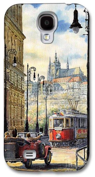 Prague Kaprova Street Galaxy S4 Case by Yuriy  Shevchuk