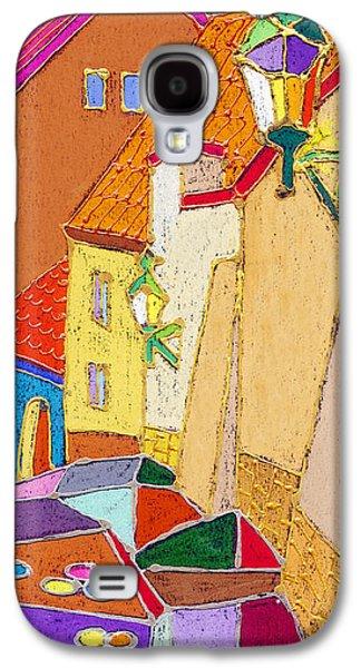 Old Street Galaxy S4 Cases - Prague Old Street Ceminska Novy Svet Galaxy S4 Case by Yuriy  Shevchuk