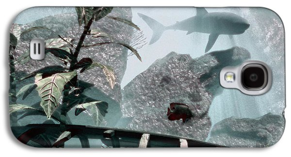 Shark Digital Art Galaxy S4 Cases - Predator Galaxy S4 Case by Richard Rizzo