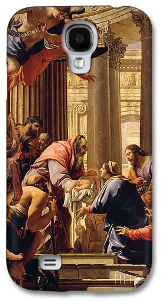 Columns Galaxy S4 Cases - Presentation in the Temple Galaxy S4 Case by Simon Vouet