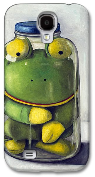 Mason Jars Galaxy S4 Cases - Preserving Childhood upclose Galaxy S4 Case by Leah Saulnier The Painting Maniac