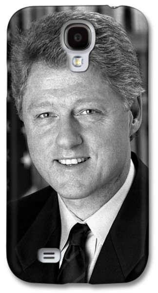 Bill Clinton Galaxy S4 Cases - President Bill Clinton Galaxy S4 Case by War Is Hell Store