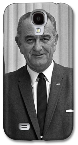 Democratic Galaxy S4 Cases - President Lyndon Johnson Galaxy S4 Case by War Is Hell Store