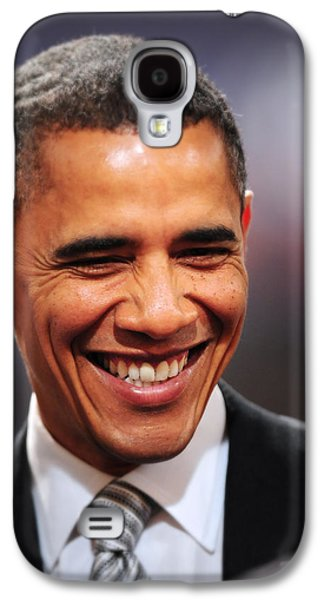 Obama Galaxy S4 Cases - President Obama Iv Galaxy S4 Case by Rafa Rivas