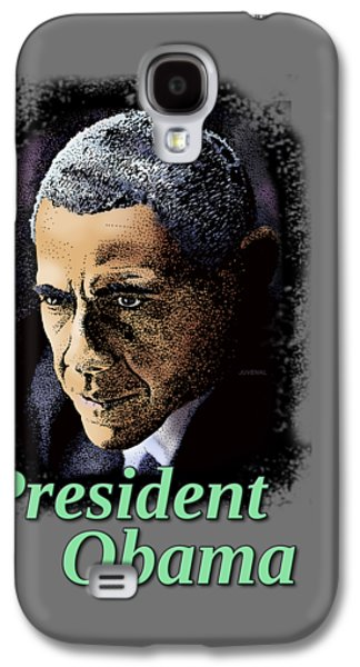 President Obama Galaxy S4 Case by Joseph Juvenal
