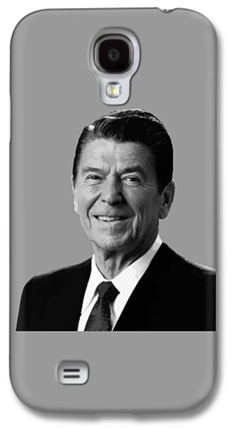 Cold Galaxy S4 Cases - President Reagan Galaxy S4 Case by War Is Hell Store