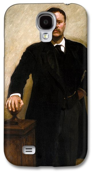 President Theodore Roosevelt Painting Galaxy S4 Case by War Is Hell Store