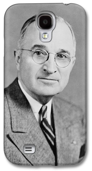 Politician Galaxy S4 Cases - President Truman Galaxy S4 Case by War Is Hell Store