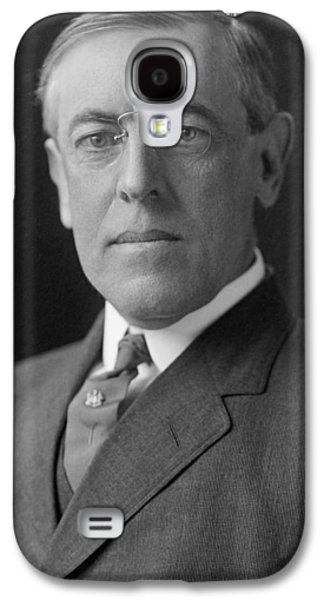Democrats Galaxy S4 Cases - President Woodrow Wilson Galaxy S4 Case by War Is Hell Store