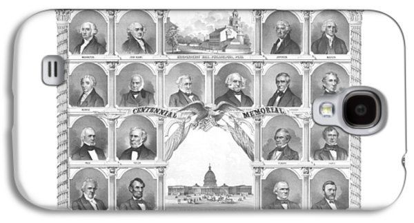 Presidents Of The United States 1776-1876 Galaxy S4 Case by War Is Hell Store